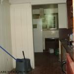 Basement kitchen at Stanley Barracks