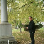 Richard at cemetery